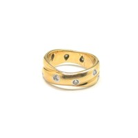 Tiffany & Co Double Etoile Band Ring