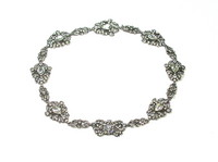 Victorian Silver Paste Necklace