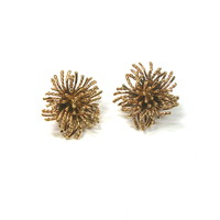 Tiffany & CO 18kt Anemone Earclips