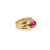 Bulgari 18kt Pink Tourmaline Ring