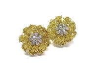 18kt & Diamond Earrings